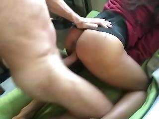 Morning Fuck - The View Of Her Mini Skirt Made Me Cum So Good