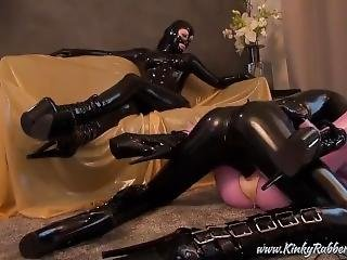 Five Rubber Sex Show For The Mistress