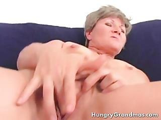 Mature But Nasty Granny!