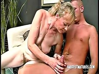 Rozi gets some juice inside her ragged gray cooter - 4 9
