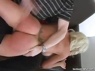 Ganelle Angel Spanked