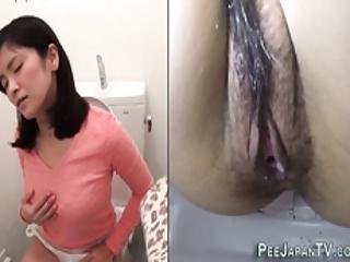 Teen Masturbates Close Up