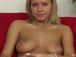 Another Double Point Bonus From Yet Another Blonde See Her Warm Her Pussy