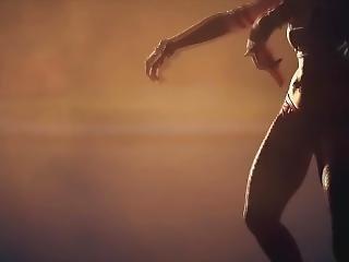 Harley Quinn Hot Ass Slow Motion