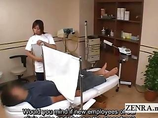 Cfnm, Clinic, Examination, Japanese, Medical, Penis, Weird