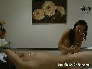 Soldier Had A Good Time With Asian Masseuse  Celia
