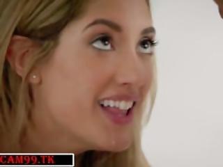 Chloe Amour Tries Double Penetration