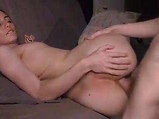 Behind The Scenes Amateur Couple Anal Fucking