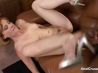 Patti Takes A Black Cock Up Her Ass