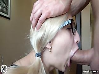 Kriss Kiss - Sloppy Blowjob Big Dick