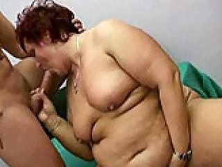 Diana Boy Ramming Fat Granny Doggystyle
