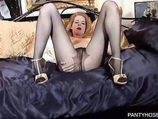 Hot Ginger With Beautiful Long Legs