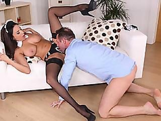 Anissa Just Wants To Get Her Dripping Wet Pussy Stuffed With A Big Cock