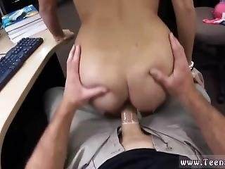Bi Sex Threesome Amateur College Student Banged In My Pawn Shop!