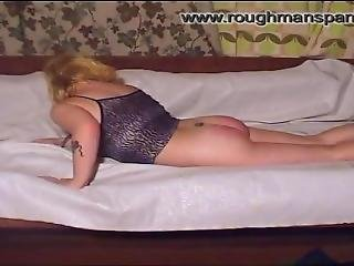 Routh Man Spanking Angela