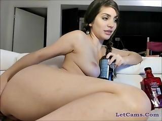 kamera mädchen, hut, zopf, sex, solo, webkam