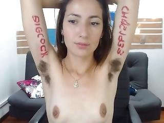 Juanamar Very Hairy Armpits
