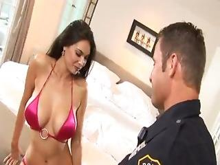 Latina, Office, Police, Pornstar