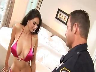 Latina, Office, Police, Pornstar