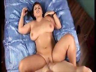 Amateur, Brunette, Dildo, Glasses, Masturbation, Oiled, Orgasm, Pale, Sex, Teen, Webcam