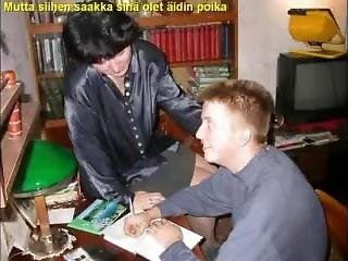 Slideshow With Finnish Captions: Mom Liza 3