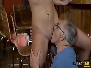 Daddy4k. Can You Trust Your Girlfriend Leaving Her Alone With Your Father