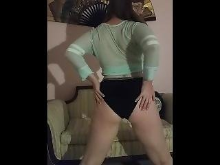 Sexy Redhead Is Stoned And Horny