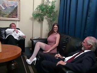 Spitroast Slut April Dawn Squirts For The First Time