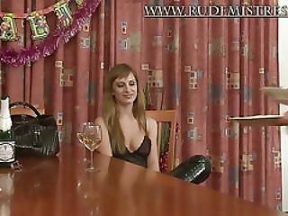 Støvler, Femdom, Fetish, Elskerinde, Russik