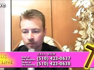 Jesus Chatline Host Gets Fisted Live On Twitch!! He Moans!!!!