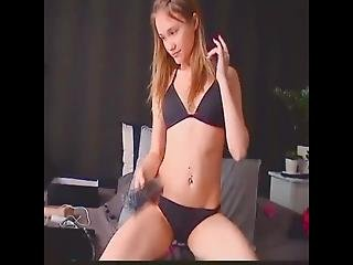Pink Pussy Shaved Girlfriend Toyplaying No 1 Lalacams