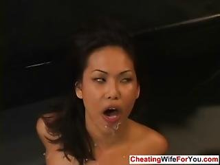 Asian Cuckold Wife Like Jizz