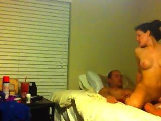 College Freshman Caught Fucking On Hidden Camera!