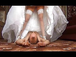 Menyasszony, Arcraülés, Szoknya, Upskirt