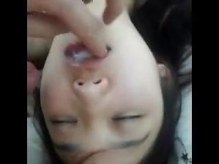 Friends Korean Wife Cumshot. I Found Her On Dates25.com