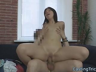 Euro Teen With Smalltits Fucked And Cum Drenched At Casting