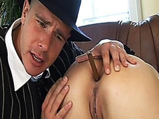 Anal Lesson From Our Big Cock Boss