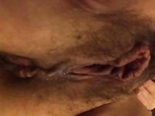 Creamy Pussy Pee Close Up