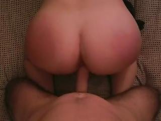 Teen Gets Spanked And Cum From Daddy - Coupleofkinks_xxx