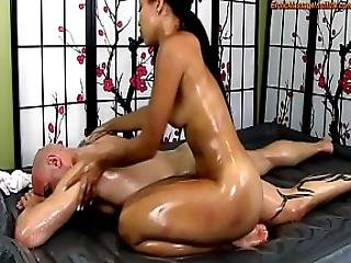 Adrian Maya Gives Erotic Oil Body-on-body Massage And More