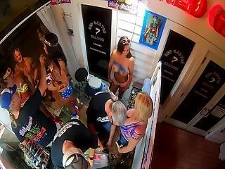 Naughty Body Painted Sluts Voyeur Fantasy Fest