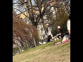 See Through Leggings Girl In Berlin Candid
