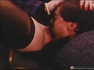 In Her Hairy Pussy Licking