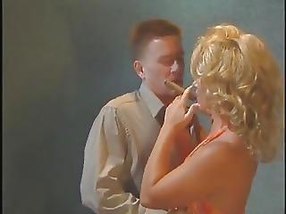 Loira, Cigarro, Orgasmo, Sexo