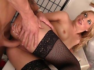 Alyssa Branch Takes Dick In Her Pussy