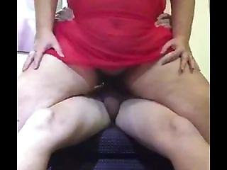 Sexy Uk Milf Bounces On Lovers Cock