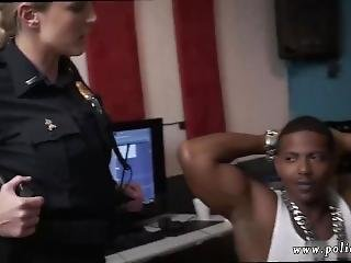 Hot Brunette Anal Sex Raw Movie Grabs Police Nailing A Deadbeat Dad.