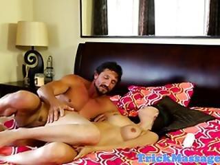 Blindfolded Babe Fucked After Erotic Massage