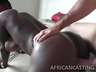 Short Haired Babe Banged With Long Dick