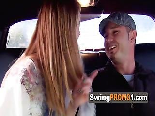 New Swingers Share With Other Horny Couples Before Heading To The Red Room